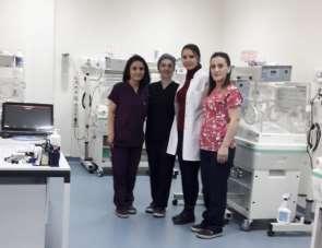Boyabat Devlet Hastanesinde Yenidoğan Yoğun Bakım Ünitesi açıldı