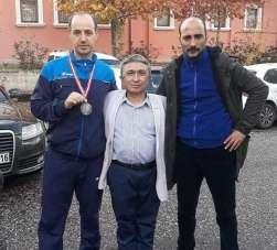 Engelli sporcu Türkiye ikincisi oldu