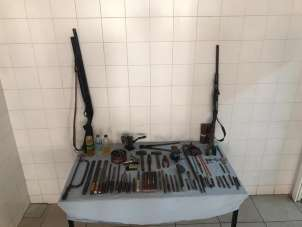Jandarma'nın kaçak silah yapımı ile mücadelesi devam ediyor