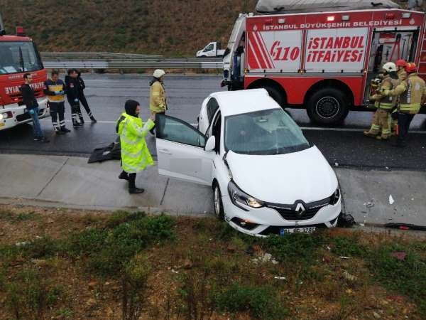 Kuzey Marmara otoyolunda feci kaza: 1 ölü