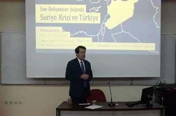 Maltepe Üniversitesinde 'Son Gelişmeler Işığında Suriye Krizi ve Türkiye' konfer