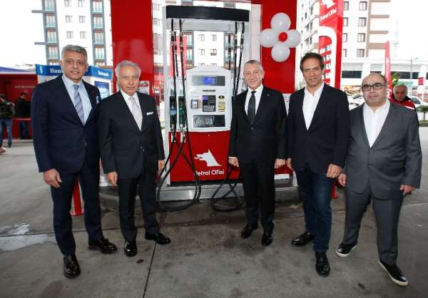 Petrol Ofisi yeni istasyonunu Pendik'te açtı