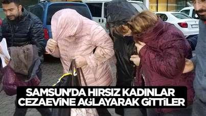 Samsun'da hırsızlar ağlayarak cezaevine gitti