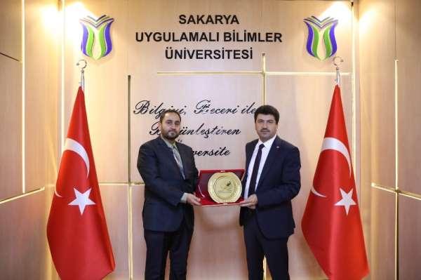 Uluslararası Şam Üniversitesi'nden SUBÜ'ye ziyaret