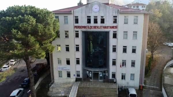 Perşembe Devlet Hastanesi tabelası asıldı