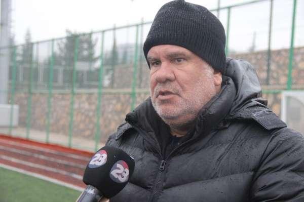 """Elazığspor Teknik Direktörü Eriş: """"Transfer tahtası açılmayacak"""""""