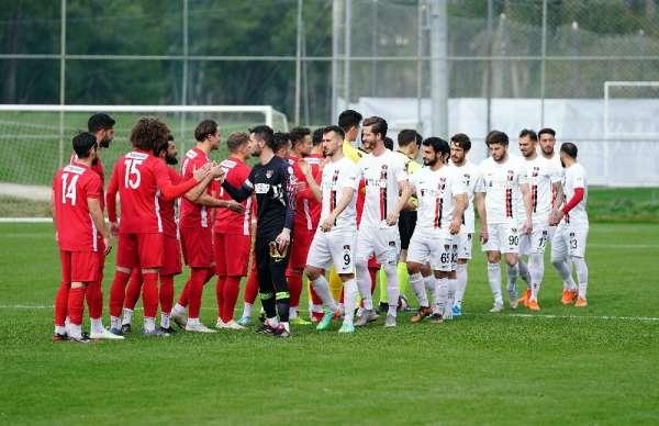 Hazırlık maçı: Samsunspor: 2 - Vanspor: 1