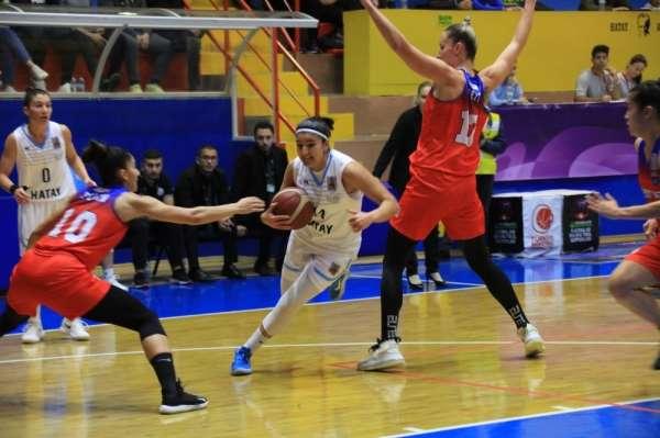Kadınlar Basketbol Süper Ligi: Hatay Büyükşehir Belediyespor: 78 - BOTAŞ: 68