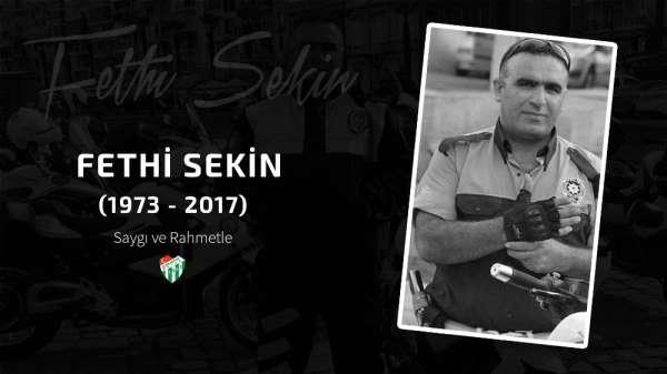 Bursaspor Kulübü, Fethi Sekini unutmadı