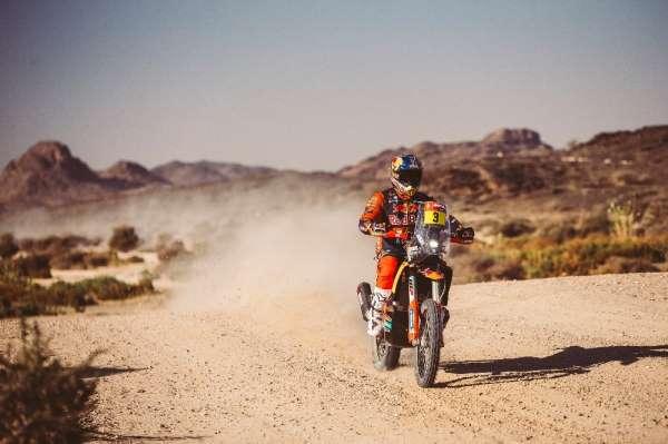 Dakar Rallisinde üçüncü gün etabı tamamlandı