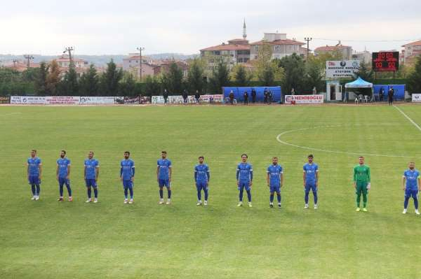 Ergene Velimeşespor ilk yarının son, 2021in ilk maçına çıkıyor