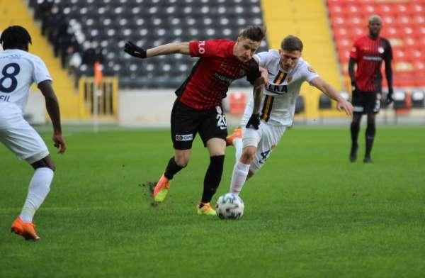Süper Lig: Gaziantep FK: 0 - MKE Ankaragücü: 0 (İlk Yarı)