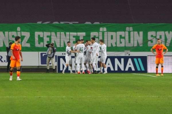 Süper Lig: Konyaspor: 4 - Galatasaray: 3 (Maç sonucu)