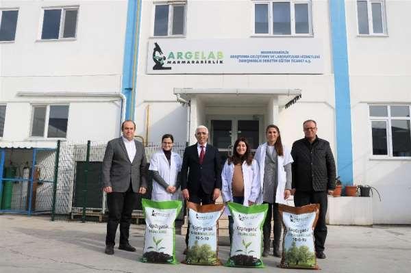 Marmarabirlik'ten organik gübre üretimi