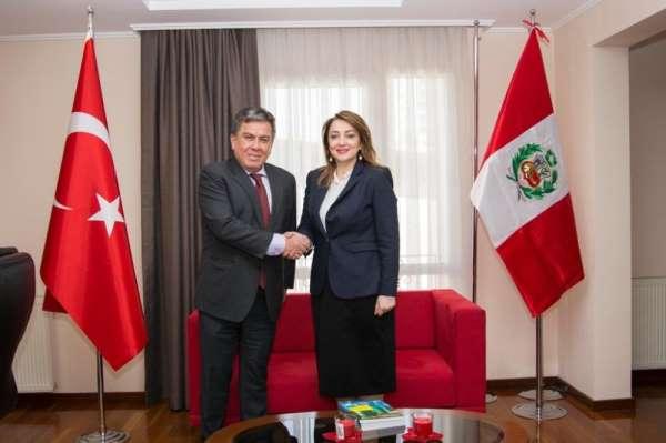 Başkan Atasoy: 'Peru ve Türkiye arasındaki ekonomik potansiyeli arttırmayı hedef