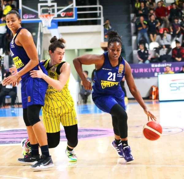 Kadınlar Türkiye Kupası: Fenerbahçe Öznür Kablo: 73 - Çankaya Üniversitesi: 65