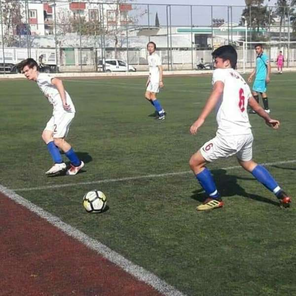 Kepez'in U17 Takımından 5-0'lık galibiyet