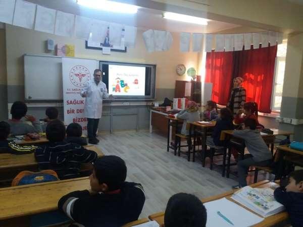 Öğrencilere 'sağlık' eğitimi
