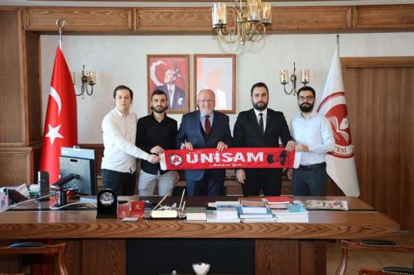 Rektör Aydın: 'Samsunsporumuzu gönülden destekliyoruz'