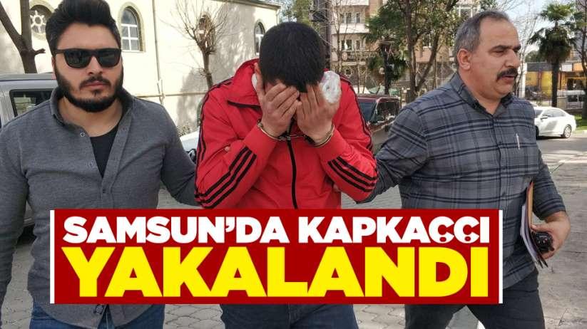 Samsun'da kapkaççı yakalandı