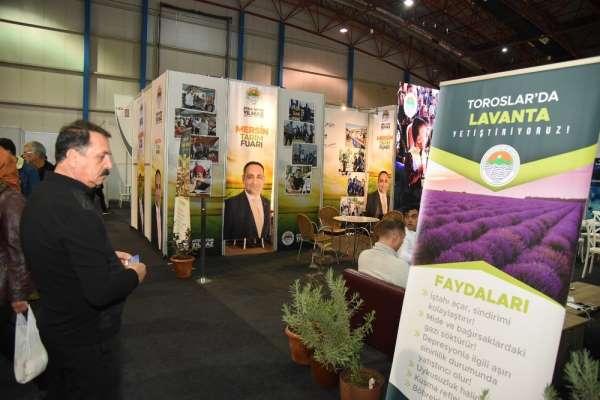 Toroslar'ın tarımsal ürünleri görücüye çıktı