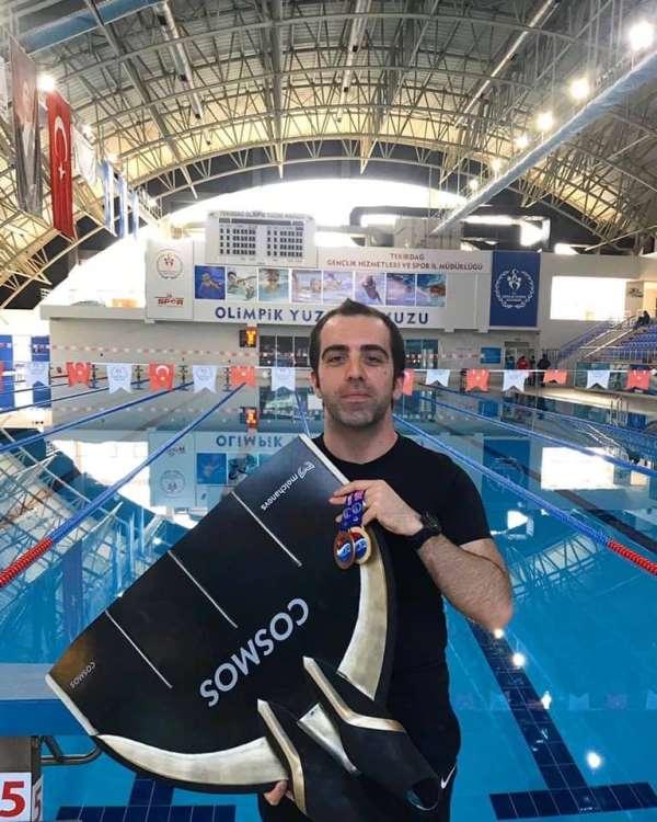 Türkiye Serbest Dalış Şampiyonu Bandırma'dan