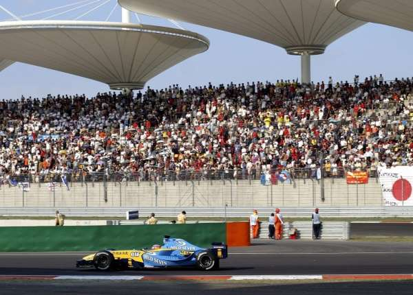 Formula 1de seyircilere aşı formülü