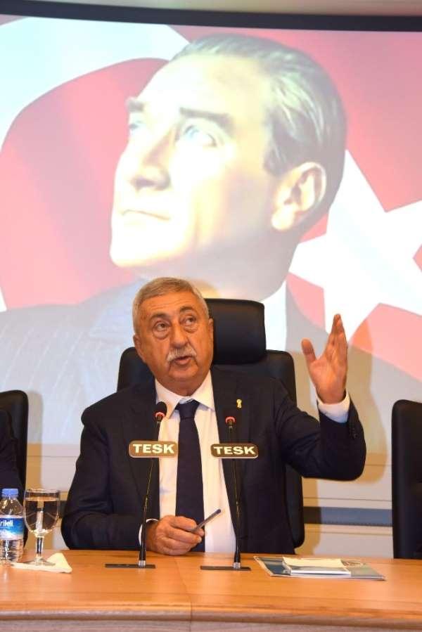 TESK Başkanı Palandöken, 'Esnaf ekonominin en ön saflarında yerini almalı'