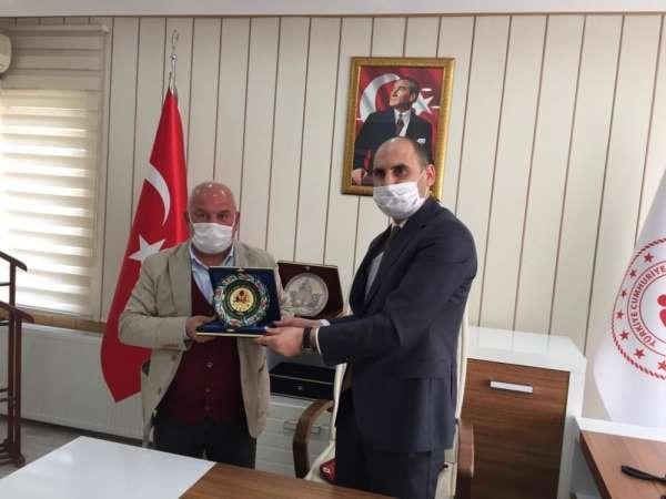 ASKF'dan Gençlik ve Spor İl Müdürü Özdemir'e ziyaret