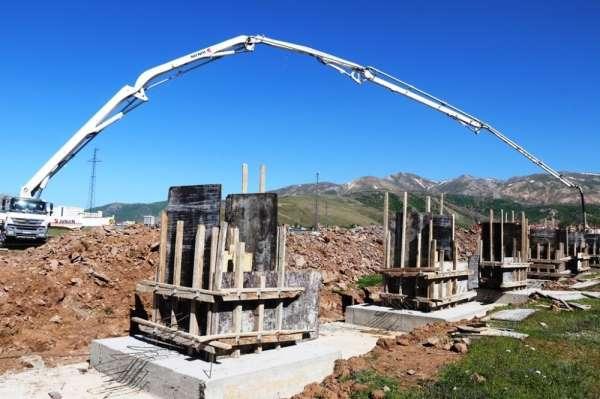 Bitlis'te 17 tarım işletmesinin temeli atıldı