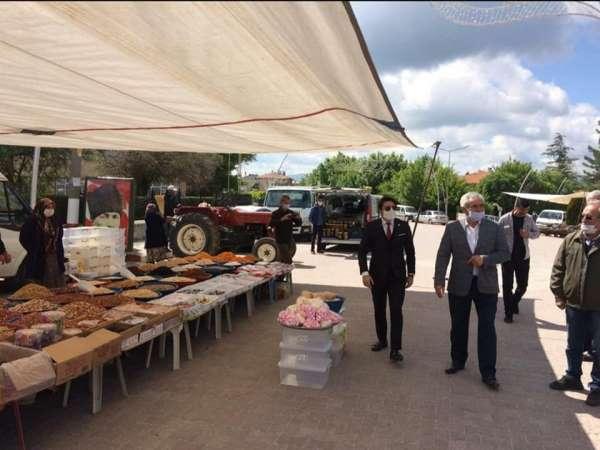 Dumlupınar pazarı açıldı