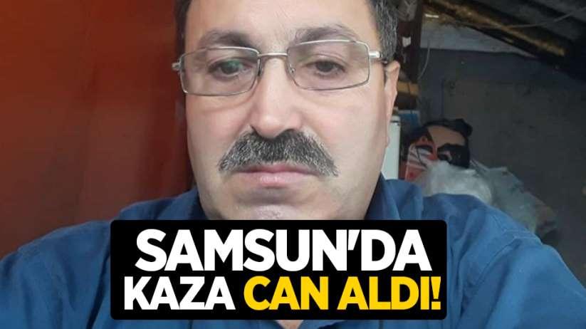 Samsun'da kaza can aldı!
