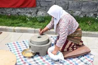 Görele'de yöresel yemekler turizme kazandırılıyor