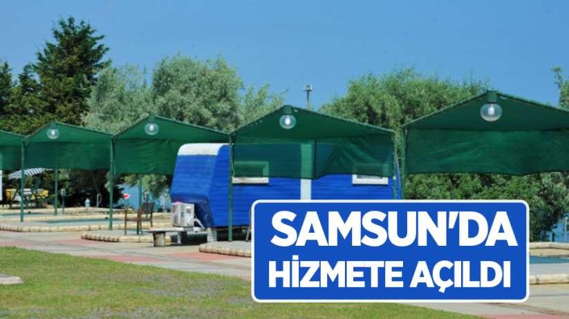 Samsun'da hizmete açıldı