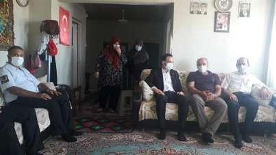 Başkan Halil Başer: 'Şehitlerimizi sonsuz saygı ve minnetle anıyoruz'