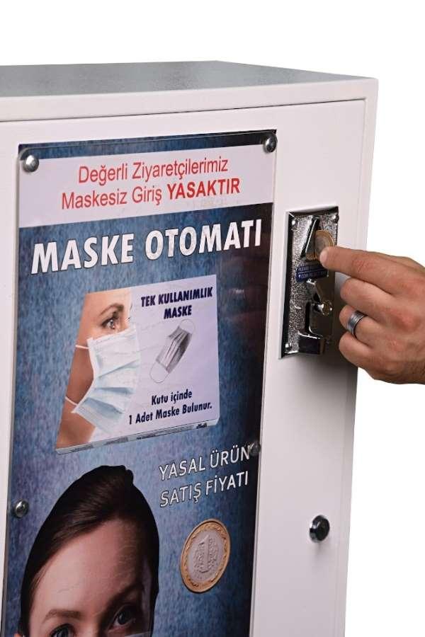 Türkiye'de maske kullanımı 3 kat arttı, maske otomatları iş başında