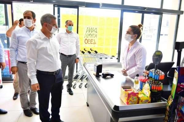 Yeşilyurt Belediyesi ikinci yeşil gıda marketini hizmete sundu