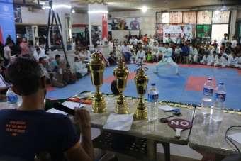İdlib'te Gençler Karate Şampiyonası başladı