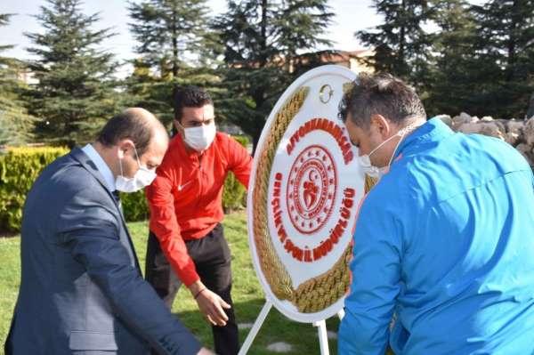 Afyonkarahisar'da tedbirli 'Amatör Spor Haftası' töreni
