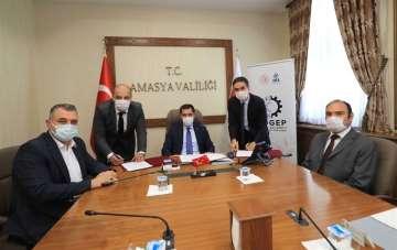 Amasya'nın ilk SOGEP projesi imzalandı