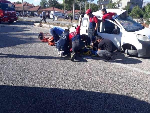 Denizli'de son bir hafta içerisinde 1'i ölümlü 130 trafik kazası meydana geldi