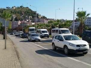 Giresun'da trafiğe kayıtlı motorlu taşıt sayısı 94 bin 234 adet oldu