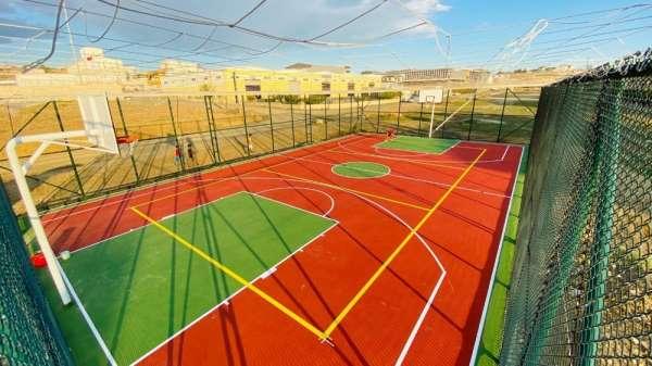 Süleymanpaşa'da spor tesisleri birer birer tamamlanıyor