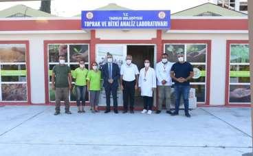 Tarsus Belediyesi 'Toprak ve Bitki Analiz Laboratuvarı' kurdu