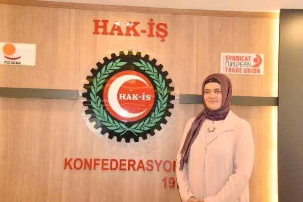 HAK-İŞ Kadın Komitesi Başkanı Zengin: 'Ordu'da üniversite öğrencisi kızımızın uğ