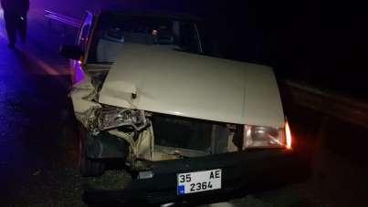 Manisa'da zincirleme trafik kazası: 1 yaralı