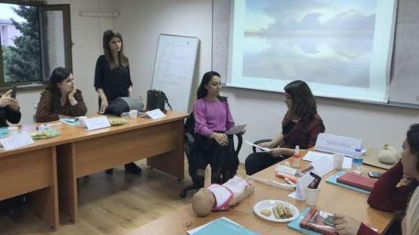Mersin Üniversitesinde Emzirme Danışmanlığı Eğitimi verildi