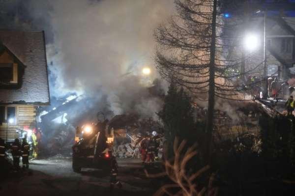 Polonya'da gaz patlaması: 4 ölü