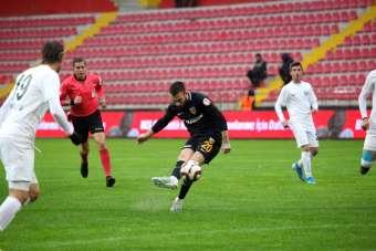 Ziraat Türkiye Kupası: İ.M. Kayserispor: 1 - Manisa FK: 0 (İlk yarı)