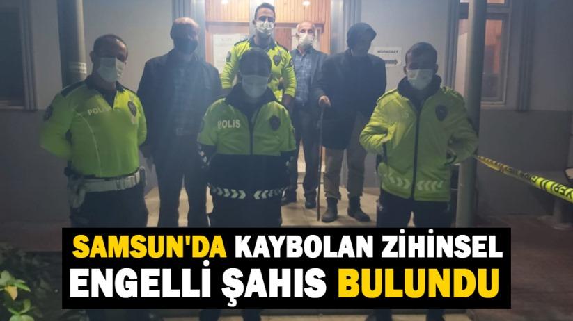 Samsun'da kaybolan zihinsel engelli şahıs bulundu